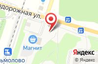 Схема проезда до компании Салон-мастерская в Кузьмолово