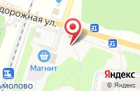 Схема проезда до компании Естный в Кузьмолово
