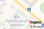 Схема проезда до компании Студия маникюра в Вишгороде