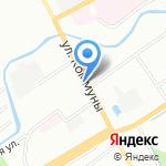 Граффит Строй на карте Санкт-Петербурга