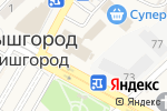Схема проезда до компании Cosa Nostra в Вишгороде