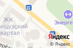 Схема проезда до компании ЭнергоМаркет в Вишгороде