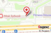 Схема проезда до компании Атон в Санкт-Петербурге