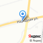Магазин фейерверков на карте Санкт-Петербурга