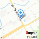 АНТ на карте Санкт-Петербурга
