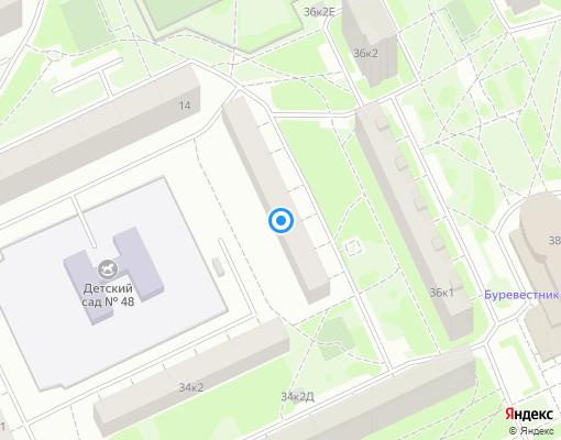 Жилищно-строительный кооператив «ЖСК - 659» на карте Санкт-Петербурга