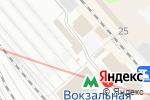Схема проезда до компании Столовая в