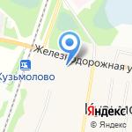Управление Пенсионного фонда РФ во Всеволожском районе на карте Санкт-Петербурга