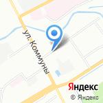Русский дворик на карте Санкт-Петербурга