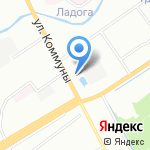 Киоск грузинской выпечки на карте Санкт-Петербурга