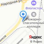 Корпус на карте Санкт-Петербурга