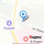 Вольтовик на карте Санкт-Петербурга