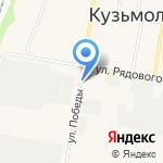 Центр красоты и фитнеса на карте Санкт-Петербурга