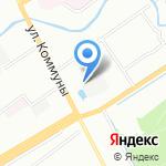 Пункт приема металлолома на карте Санкт-Петербурга