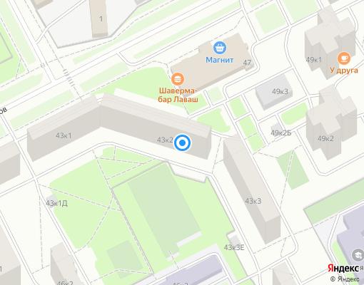 Жилищно-строительный кооператив «ЖСК-1115» на карте Санкт-Петербурга