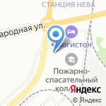 ИнтерТакс на карте Санкт-Петербурга
