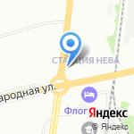 Шиномонтаж 78 на карте Санкт-Петербурга