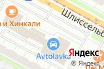 Схема проезда до компании Дикий окунь в Санкт-Петербурге