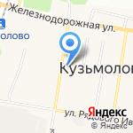 Кузьмоловская поликлиника на карте Санкт-Петербурга
