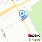 Верный на карте Санкт-Петербурга