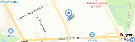 Вацлав Замок на карте Санкт-Петербурга
