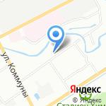 Петро-Боксинг на карте Санкт-Петербурга