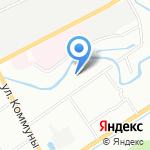 ЕвроДор на карте Санкт-Петербурга