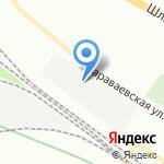 Гаражный кооператив №12 на карте Санкт-Петербурга