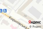 Схема проезда до компании Фармак, ПАО в