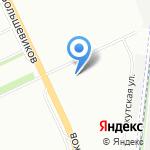 Мебель-Хаус на карте Санкт-Петербурга