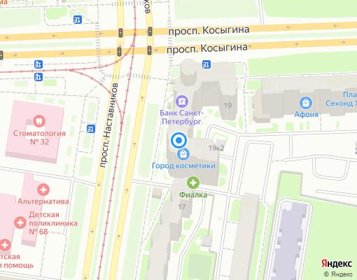 Товарищество собственников жилья «Соратник» на карте Санкт-Петербурга