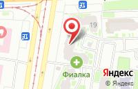 Схема проезда до компании Аванзал в Санкт-Петербурге
