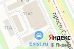 Схема проезда до компании Лорел в Санкт-Петербурге