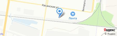 Шиномонтажная мастерская на проспекте Наставников на карте Санкт-Петербурга