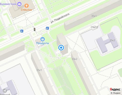 Жилищно-строительный кооператив «ЖСК № 704» на карте Санкт-Петербурга