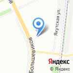 Айсберг на карте Санкт-Петербурга