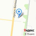 Neste на карте Санкт-Петербурга