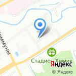 Медтехсервис на карте Санкт-Петербурга