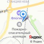 ПТС на карте Санкт-Петербурга