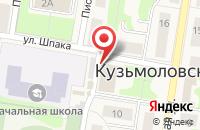 Схема проезда до компании Пекарня в Кузьмолово