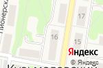 Схема проезда до компании Продуктовый магазин в Кузьмоловском