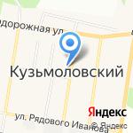 Салон-мастерская на карте Санкт-Петербурга