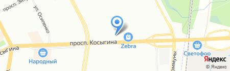 Детская музыкальная школа №41 на карте Санкт-Петербурга