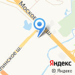 Шашлычная на карте Санкт-Петербурга