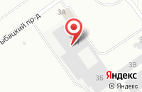 Схема проезда до компании А1 Студия в Санкт-Петербурге