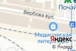 Схема проезда до компании Козаченко В.П., ЧП в
