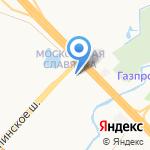 Экстрим-Славянка на карте Санкт-Петербурга