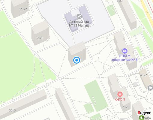 Товарищество собственников жилья «ЖСК № 793» на карте Санкт-Петербурга