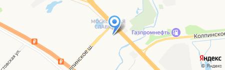 Мототехника на карте Санкт-Петербурга