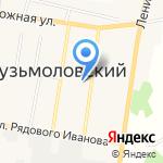 Терем на карте Санкт-Петербурга
